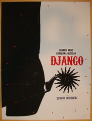 "2012 ""Django"" - Silkscreen Movie Poster by Jay Shaw"