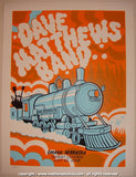 2008 Dave Matthews Band - Omaha Concert Poster by Methane
