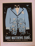 2007 Dave Matthews Band - Hollywood Concert Poster by Methane