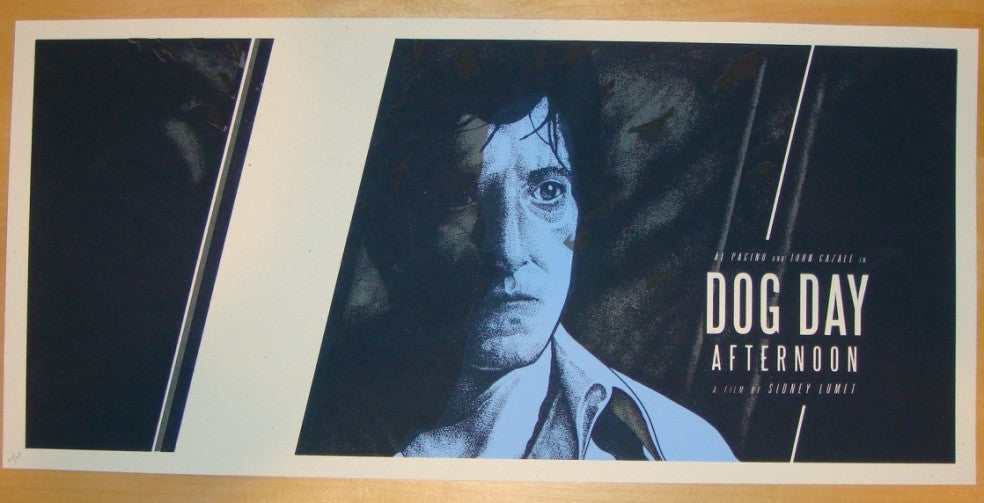 "2011 ""Dog Day Afternoon"" - Silkscreen Movie Poster by Martin"