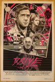 "2013 ""Drive"" - Portrait Silkscreen Movie Poster by Tyler Stout"
