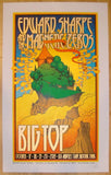 2013 Edward Sharpe - Los Angeles Concert Poster by Chuck Sperry