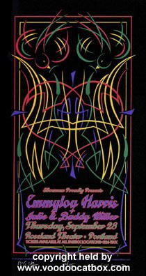 2000 Emmylou Harris Silkscreen Concert Poster by Gary Houston