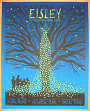2010 Eisley - Glow in Dark Variant Concert Poster by Todd Slater