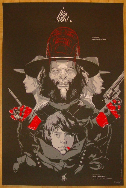 "2010 ""El Topo"" - Silkscreen Movie Poster by Martin Ansin"