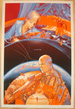 "2013 ""Elysium"" - Silkscreen Movie Poster by Martin Ansin"