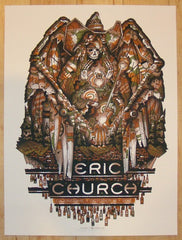 2012 Eric Church - Lafayette Concert Poster by Guy Burwell