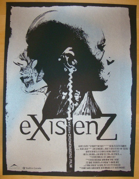 "2011 ""eXistenZ"" - Silkscreen Movie Poster by Jay Shaw"