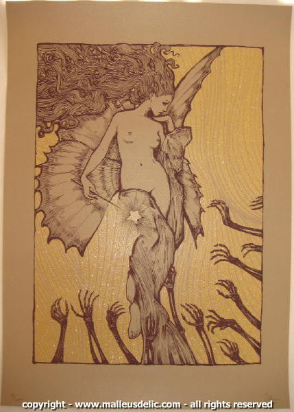 2008 Fairytale Silkscreen Art Print by Malleus