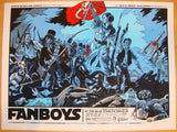 "2011 ""Fanboys"" - Variant Silkscreen Movie Poster by Tim Doyle"