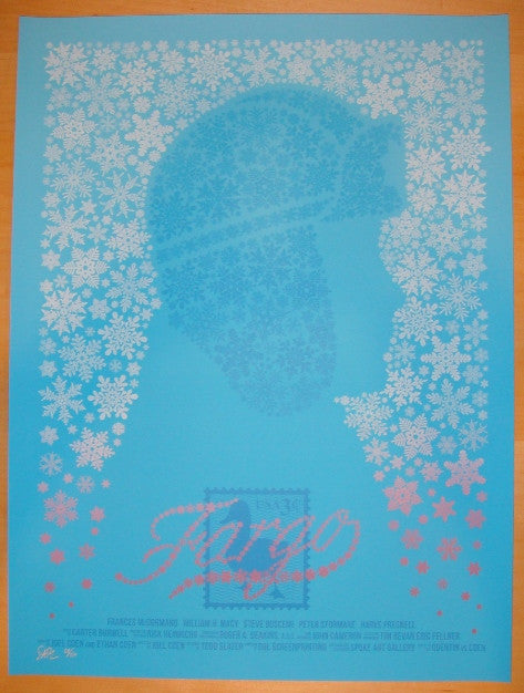 "2011 ""Fargo"" - Silkscreen Movie Poster by Todd Slater"