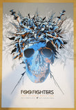 2015 Foo Fighters - Perth Silkscreen Concert Poster by Ken Taylor