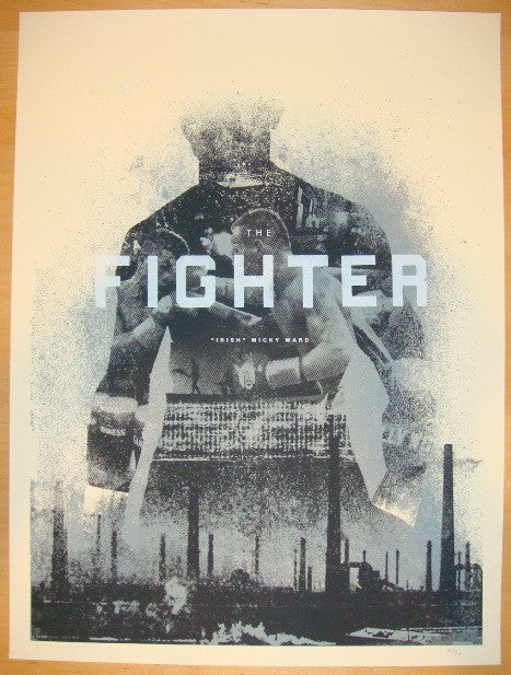 "2010 ""The Fighter"" - Silkscreen Movie Poster by Alan Hynes"