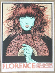 2019 Florence and the Machine - Sydney Silkscreen Concert Poster by Ken Taylor