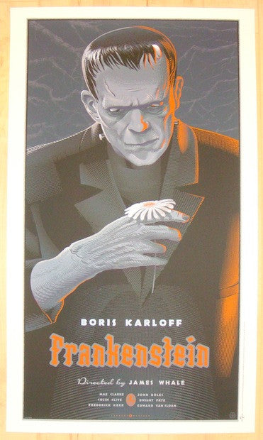 "2012 ""Frankenstein"" - Silkscreen Movie Poster by Laurent Durieux"