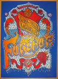 2012 Furthur - LA Silkscreen Concert Poster by David Welker