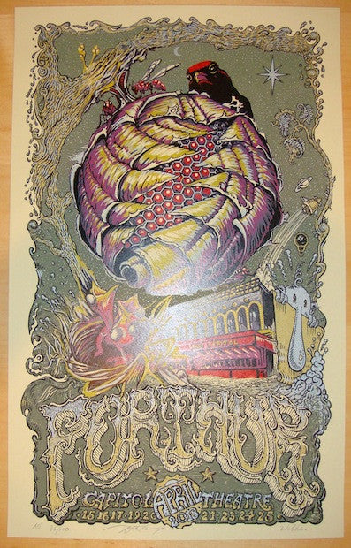 2013 Furthur - Port Chester Concert Poster by Masthay & Welker