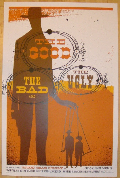 "2008 ""The Good, The Bad, & The Ugly"" Movie Poster by Kleinsmith"