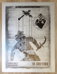 "2011 ""The Godfather"" - Silkscreen Movie Poster by David O'Daniel"
