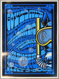 2003 Gov't Mule - New Orleans Silkscreen Concert Poster by/ Jeff Wood & Ralph Walters