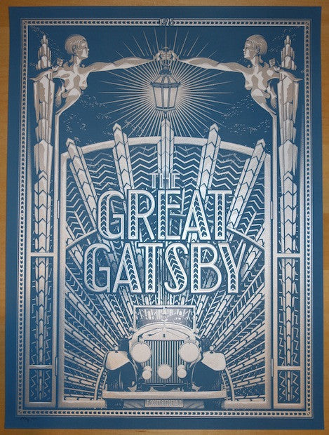 "2014 ""The Great Gatsby"" - Movie Poster by Tracie Ching"