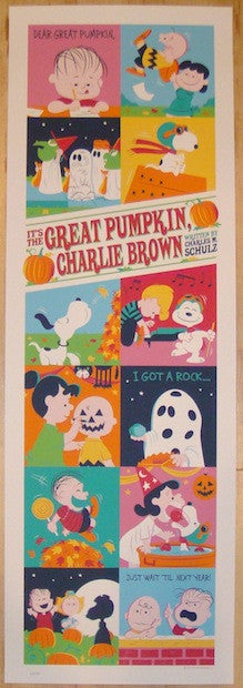 "2013 ""It's The Great Pumpkin, Charlie Brown"" - Poster by Perillo"