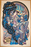 2010 Greg Dulli - Silkscreen Concert Poster by Guy Burwell