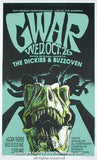 1994 Gwar w/ the Dickies (94-23) Concert Poster by Derek Hess
