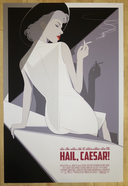 "2016 ""Hail, Caesar!"" - Silkscreen Movie Poster by Craig Drake"