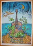 2010 Haiti - Silkscreen Art Print by Emek
