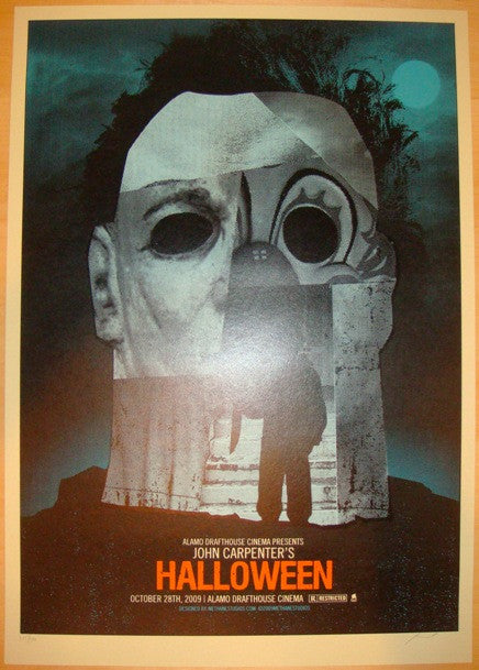 "2009 ""Halloween"" - Silkscreen Movie Poster by Methane"