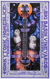 2007 Honkytonk Homeslice - Concert Poster by Michael Everett