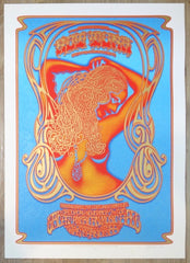 2015 Hot Tuna - San Francisco Silkscreen Concert Poster by Dave Hunter & Alan Forbes