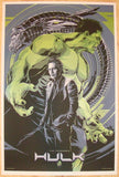 "2012 ""The Hulk"" - Silkscreen Movie Poster by Ken Taylor"