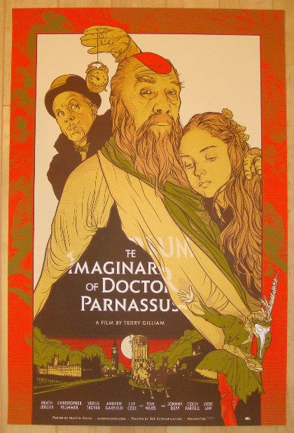 "2010 ""The Imaginarium of Doctor Parnassus"" Movie Poster by Ansin"