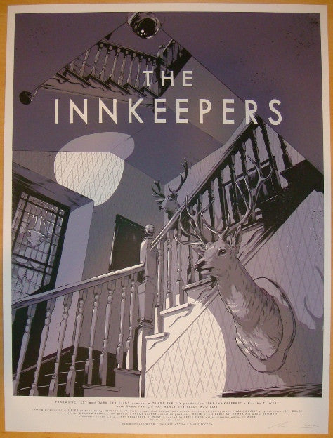 "2011 ""The Innkeepers"" - Silkscreen Movie Poster by Ghostco"