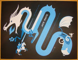2012 Jack White - Jackson Concert Poster by Tom Whalen