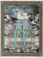 2015 Jane's Addiction - Portland/Seattle Silkscreen Concert Poster by Emek