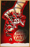 2010 Justin Townes Earle - Portland Concert Poster by Burwell