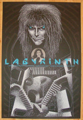 "2008 ""Labyrinth"" - Silkscreen Movie Poster by Todd Slater"