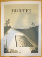 2014 Lake Street Dive - Chicago Concert Poster by Justin Santora