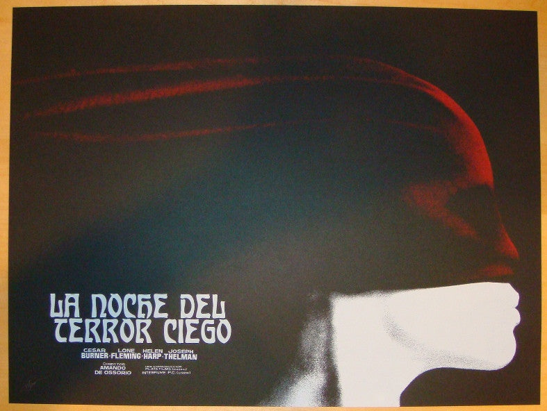 "2012 ""La Noche Del Terror Ciego"" - Movie Poster by Jay Shaw"