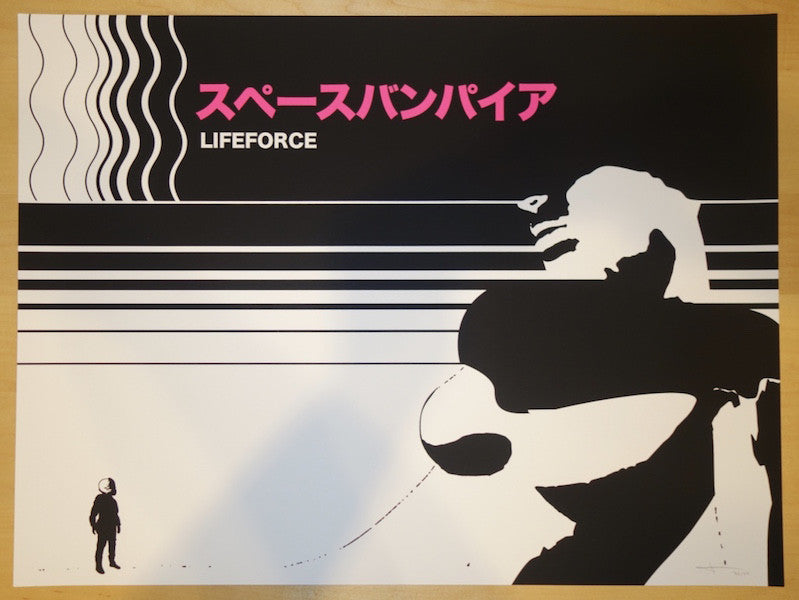 "2015 ""Lifeforce"" - Silkscreen Movie Poster by Jay Shaw"