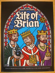 "2009 ""Life of Brian"" - Silkscreen Movie Poster by Lure Design"