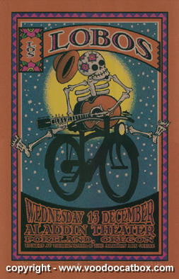 2006 Los Lobos Silkscreen Concert Poster by Gary Houston