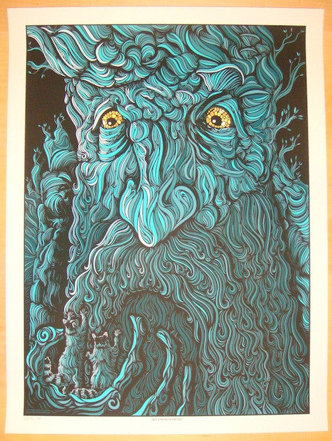 "2012 ""Lord of the Rings"" - Silkscreen Art Print by Todd Slater"