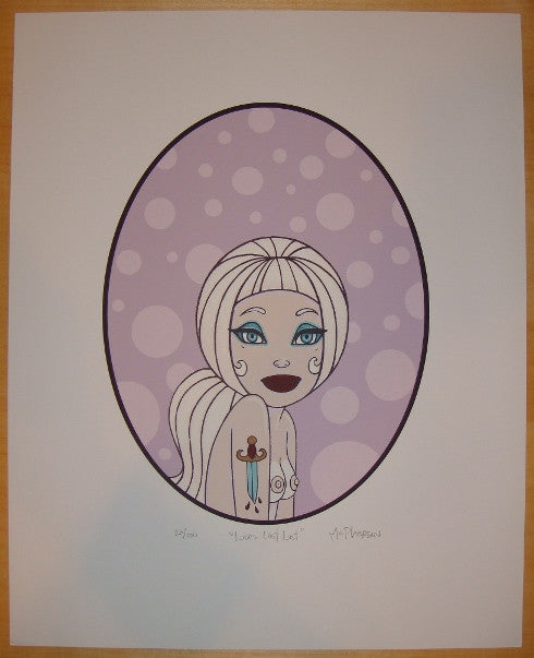 2004 Love's Lost Lust - Silkscreen Art Print by Tara McPherson