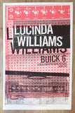 2008 Lucinda Williams - Bend Silkscreen Concert Poster by Print Mafia