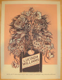 2011 Lucinda Williams - Denver Concert Poster by John Vogl
