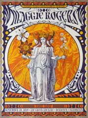2019 Maggie Rogers - Berkeley Silkscreen Concert Poster by Nate Duval